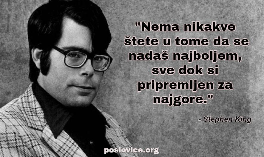 stephen king citat o optimizmu