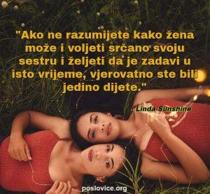 sestre ljubav citati